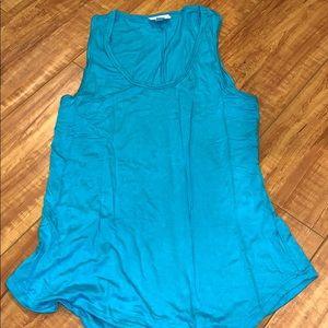 Lularoe turquoise tank top